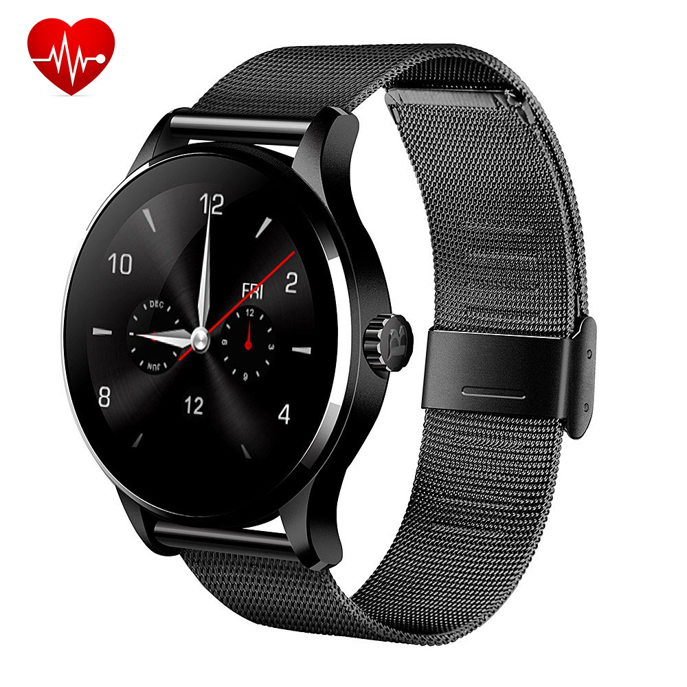 Original Round K88H Bluetooth font b Smart b font font b Watch b font Sport Health