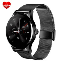 Original Round K88H Bluetooth Smart Watch Sport Health Pedometer Heart Beat Remote Camera Intelligent Clock For iPhone Android