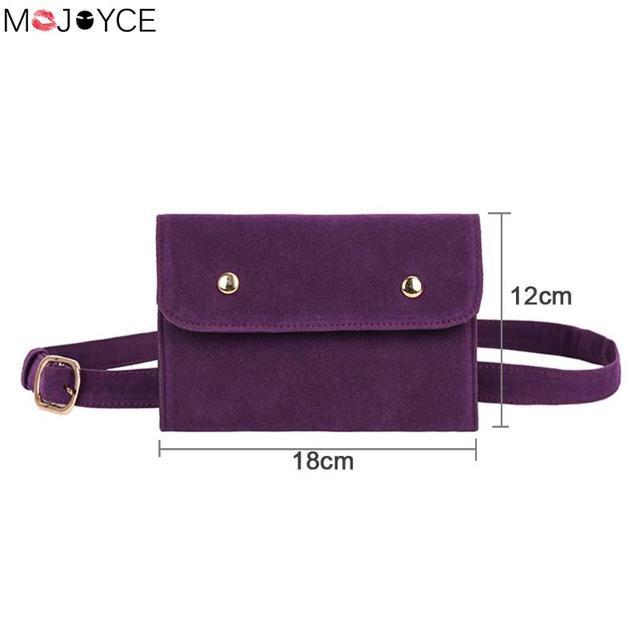 Luxury Design Women Scrub PU Leather Waist Bag Female One Shoulder Zipper Fanny Pack Ladies Envelope Belt Bag bolsa feminina