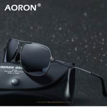 AORON Brand Designer Sunglasses Polarized Mens Sun Glasses Driving Fishing Sports UV400 Men Sunglass Male Vintage Eyewear Oculos