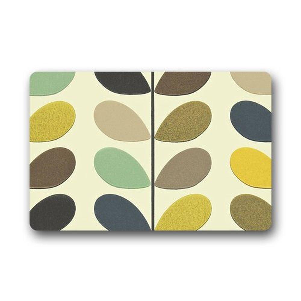 CHARMHOME Orla Kiely Custom Doormat Indoor Outdoor Floor Mat -in Mat ...