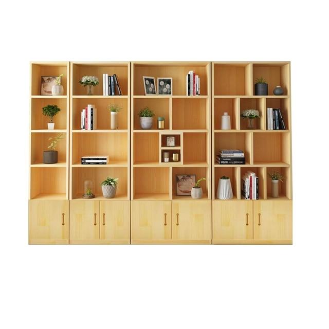 € 376.55 23% de DESCUENTO|Dekorasyon Meuble Industrial Mueble De Cocina  Libreria muebles De madera Vintage Decoración Retro estante De libros en ...