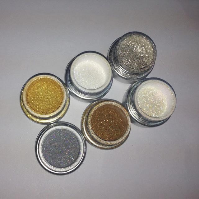 Magic Metallic Powders HOT Sale 2016 Mirror effect pigment for nails of uv gel Polish