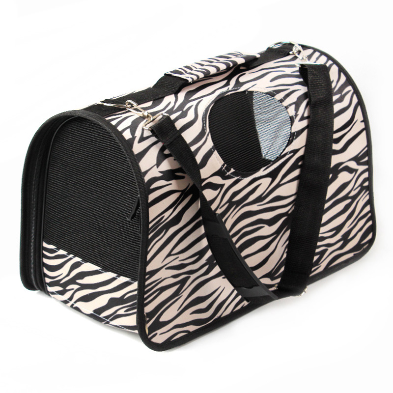 Portable Outdoor Pet Travel Carrier Cage Freight Kennel Soft Comfy Shockproof