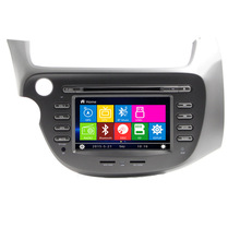Car DVD Player GPS Radio For Honda Fit Jazz with bluetooth RDS Ipod support TV Radio