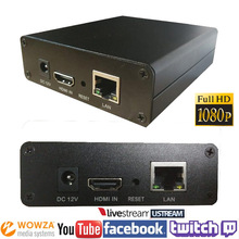 H.264 HDMI Video Encoder Streaming Encocder HDMI Transmitter Live Broadcast Encoder H264 Iptv Encoder