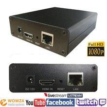 H.264 Codificador de streaming de Vídeo HDMI encocder HDMI Transmissor Transmissão ao vivo iptv codificador codificador H264