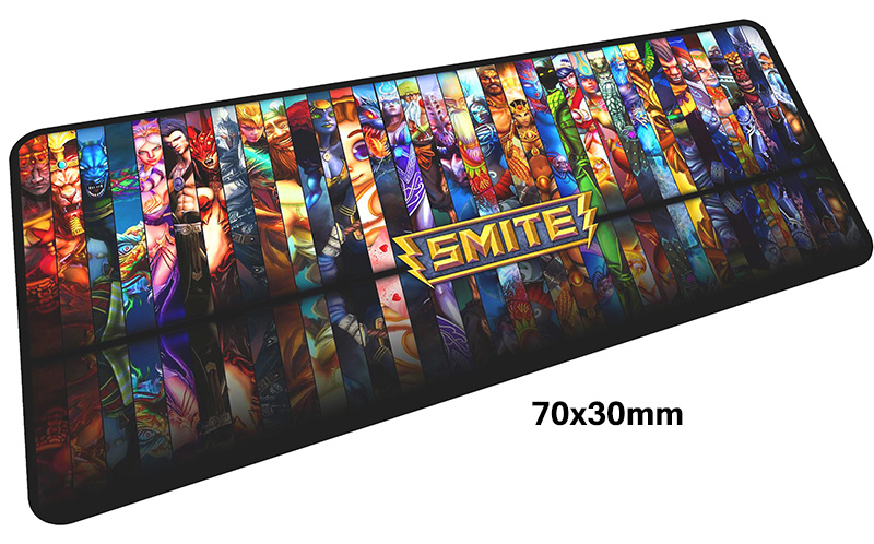 smite mouse pad gamer 700x300mm notbook mouse mat large gaming mousepad large Customized pad mouse PC desk padmouse