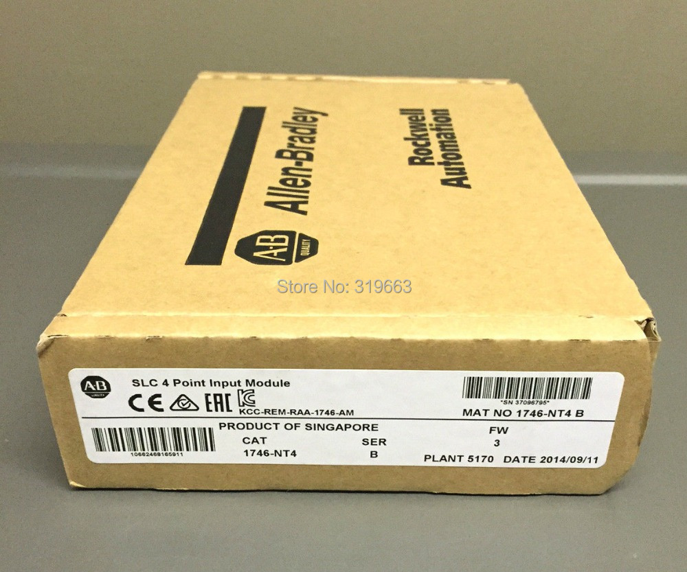 1746-NT4 1746NT4 Allen Bradley New in orignal box, FAST DELIVERY dhl ems new in box ab allen bradley 1794 tb3 1794tb3 e1