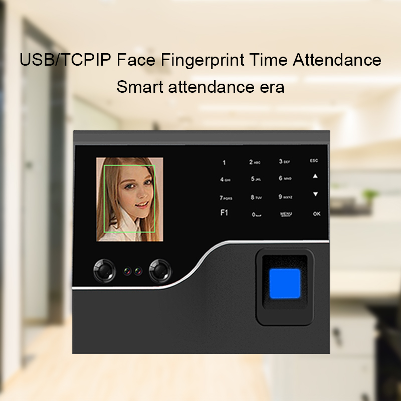 OULET Fingerprint Time Attendance Facial Attendance System TCPIP Access Control Recorder Employee Time Clock For CompanyOULET Fingerprint Time Attendance Facial Attendance System TCPIP Access Control Recorder Employee Time Clock For Company