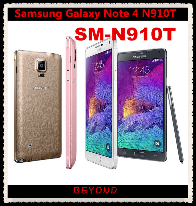 Samsung Galaxy Note 4 N910T Original Unlocked 4G LTE GSM ...