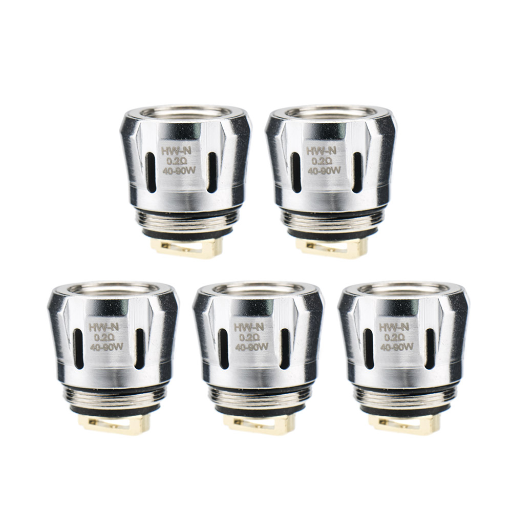 A-touch Electronic Cigarette Coils 3pcs/lots subohm HW-M 0.15ohm HW-N 0.2ohm Coil Head Replacement Core for ijust 3 Kit(China)
