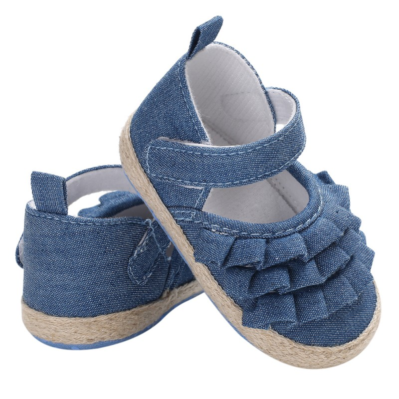 Toddler Shoes Canvas Soft-Bottom Girls Non-Slip Baby Princess Casual Fashion New