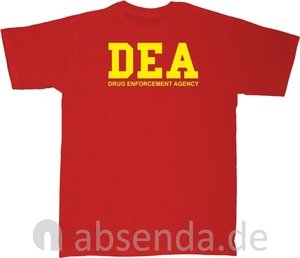 Image 4 - Dea Drug Enforcement Agancy Escobar Chapo Police T Shirt Neu 2019 New Cotton Short Sleeves Hip Hop O Neck Casual Cotton T Shirt