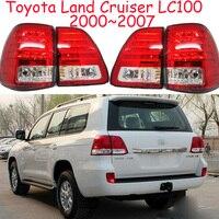 Cruiser Prado фонарь, LC100, 2000 ~ 20007 год, светодиодный, Бесплатная доставка! LC100, Vios, corolla, Hiace, Тундра, Сиена, Yaris; Cruiser задние лампы