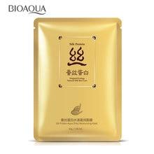 BIOAQUA 1 Piece Skin Care Silk Sheet Mask Depth Replenishment Oil Control Unisex Make