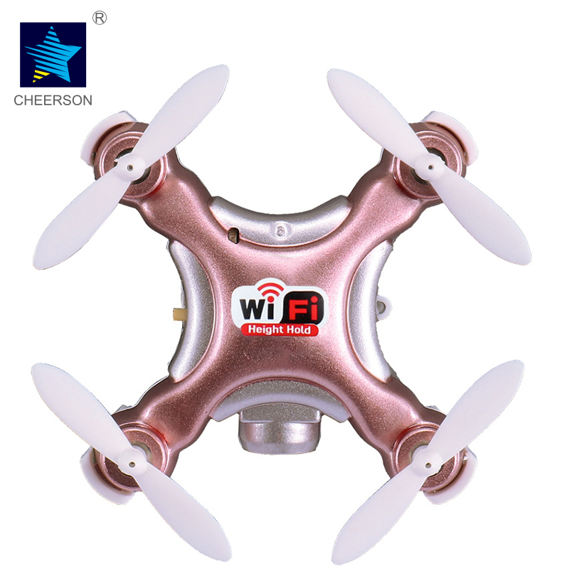 Cheerson UAV CX-10WD-TX 4CH 6-Axis Gyro Drone With 0.3MP Camera Phone WIFI Control Hight Hold RC Quadcopter LED Light Pokemon