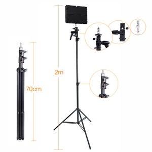 Image 3 - Travor 600 sztuk światło dzienne światło led do kamery lampa studyjna 3200K 5500k 75W oświetlenie fotograficzne z 2.4G bezprzewodowy pilot zdalnego i youtube