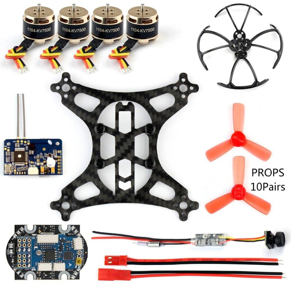 DIY ミニレーサードローンとカメラ 800tvl 25 メガワット伝送 SBUS/FS X6B/RFASB/R6DSM 受信機ブラシレスモーター rc Quadcopter  グループ上の おもちゃ & ホビー からの パーツ & アクセサリー の中 3