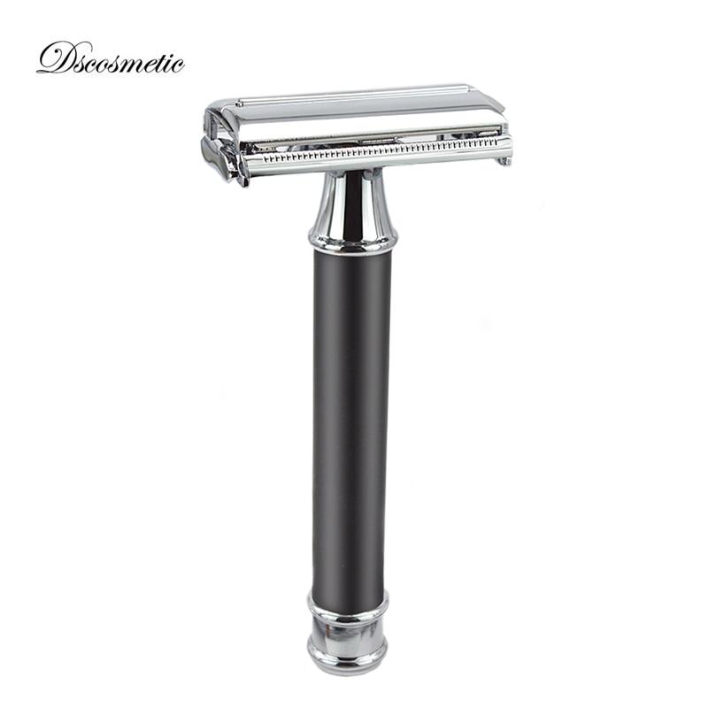 dscosmetic classic shaving razor double edge blade safety razor barber razor mens shave razor