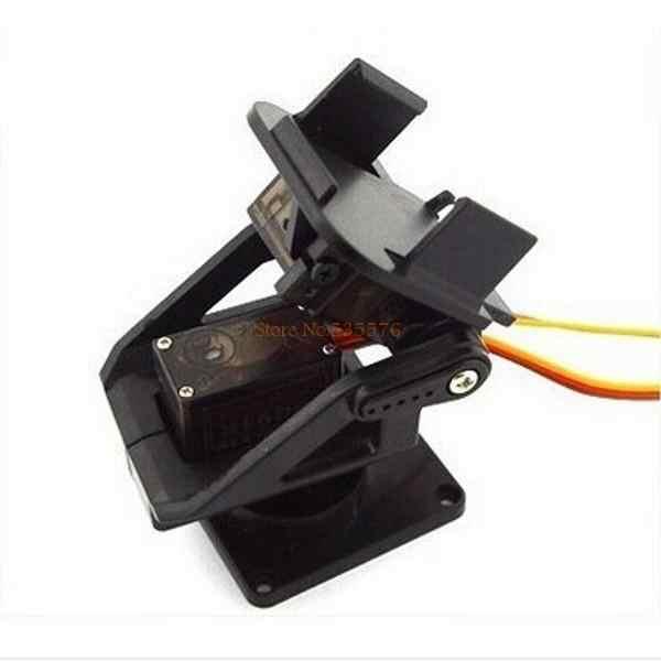 Servo soporte PT Pan/Tilt Cámara plataforma Anti-vibración montaje de la cámara para aviones FPV dedicado nylon PTZ para 9G SG90