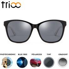 ФОТО trioo reading minus glasses prescription sunglasses photochromic eye glasses uv400 summer diopter spectacles myopia lens