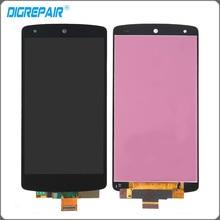 Черный для LG Google Nexus 5 D820 D821 ЖК-дисплей Дисплей Сенсорный экран планшета сборки, Черного цвета; Бесплатная доставка + отслеживания нет.