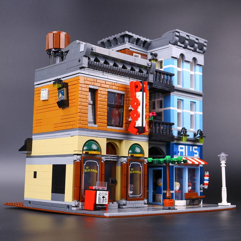 Lepin 15011 2262Pcs Parsian Creator Expert City Street restaurant Avengers  Set Assemble Building Blocks Children Toys Gift 10197-in Blocks from Toys  ...