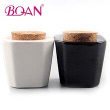 BQAN 1 шт. Хрустальное Стекло Dappen Блюдо Акриловая жидкая стеклянная чашка инструменты для дизайна ногтей акриловая художественная чаша для ногтей мини дробное розливание