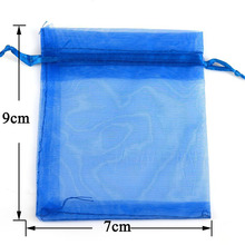 FENGRISE 50ps 7×9 10x12cm Wedding Decoration Baby Shower Organza Bags Jewelry Gifts Party Candy Birthday Favors Packaging Goodie
