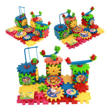 Детские разнообразные строительные блоки, игрушки, электрические сборочные шестерни, наборы, вставки головоломки для сборки, пластиковые игрушки, подарки на праздник для детей