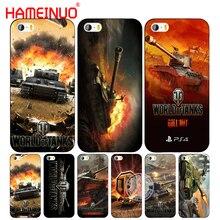 HAMEINUO world of tanks сотовый телефон чехол для iPhone 6 4 4s 5 5S SE 5c 6 6s 7 8 плюс Чехол для iPhone X
