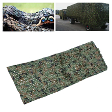 купить 1.5*1M Camouflage Colors Outdoor Military Camouflage Net Army Camo Net Tent Hunting Blinds Netting Cover Conceal Drop Net по цене 207.12 рублей