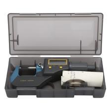 0,001 мм электронный цифровой наружный толщина микрометра и гаечный ключ цифровой микрометр 0-25 мм измерительный инструмент