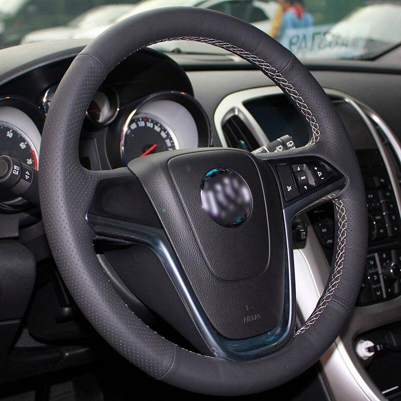 Buick Excelle XT GT Encore Opel Mokka üçün BANNIS Qara Süni Dəri - Avtomobil daxili aksesuarları - Fotoqrafiya 2