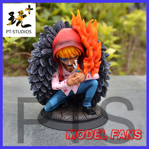 MODEL FANS IN-STOCK one piece 10cm sd version Corazon gk resin statue figure for collection