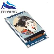 10 قطعة 1.77 بوصة TFT LCD شاشة 128*160 1.77 TFTSPI شاشة ملونة TFT وحدة المنفذ التسلسلي وحدة