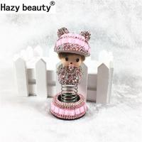 Hazy Beauty Kiki Spring Peaked Cap Car Perfume Seat Air Freshener Car Dashboard Decorations Car Ornament