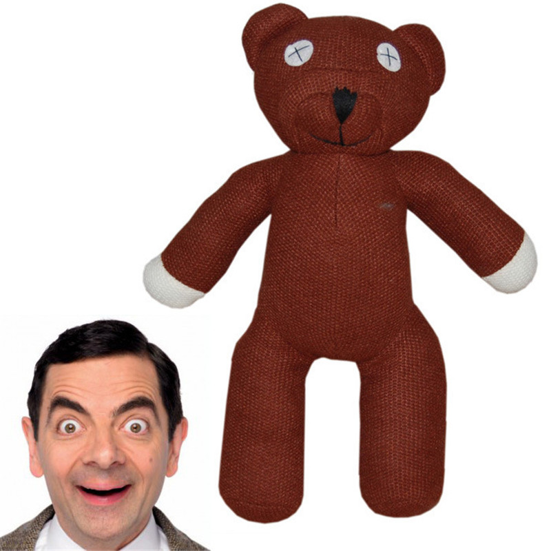 free shipping hot sale 23cm height mr bean teddy bear animal stuffed plush toy for children gift. Black Bedroom Furniture Sets. Home Design Ideas