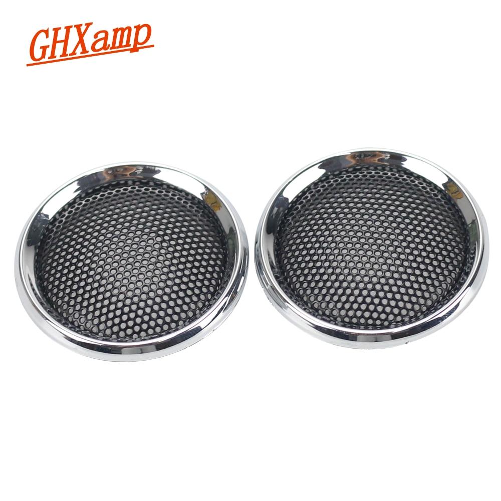 Ghxamp 2pcs 1 inch 36mm mini speaker grill mesh car for 1 1 2 box auto