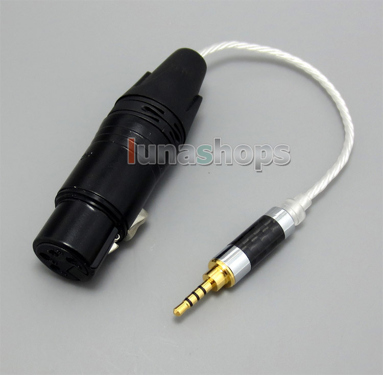 Ln004956 Trrs 2.5mm Balanced To 4pin Xlr Female Audio Silver Cable For Iriver Ak240 Ak320 Ak240ss Hot Sale 50-70% OFF Portable Audio & Video