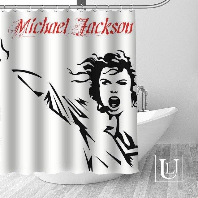 17 Shower Curtain Michael jackson shower curtain jackson galaxy 5c64f7a44ec73