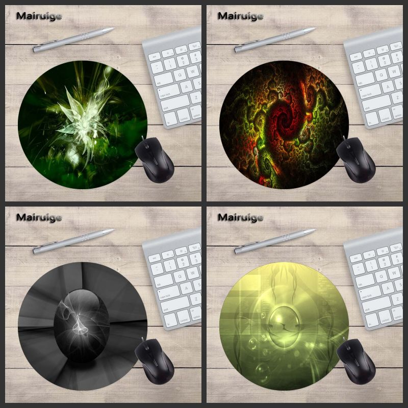 Mairuige Customize Pattern Carpets Mat Round MousePad Laptop 200X200MM Size PC Game Home ...