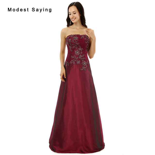 151c98974553e vestido de festa New Wine Red Lace Evening Dresses with Beading Sexy Plus  Size Prom Dresses Formal Long Engagement Evening Gowns