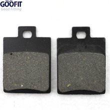 GOOFIT ATV Rear Disc Brake Pad Pads 50cc 70cc 90cc 110cc 125cc Dirt Bike Go Kart  C029-044 gas mini dirt bike rear front disc brake caliper kit 140mm rotors electric scooter atv