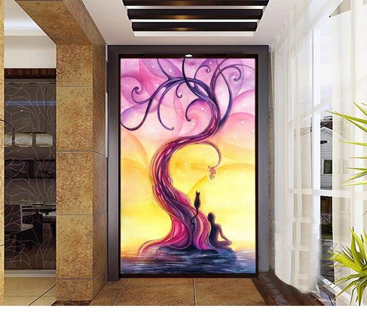 pachira macrocarpa europea barato moderno pinturas cartel estilo mejor impresin de la lona pintura al leo