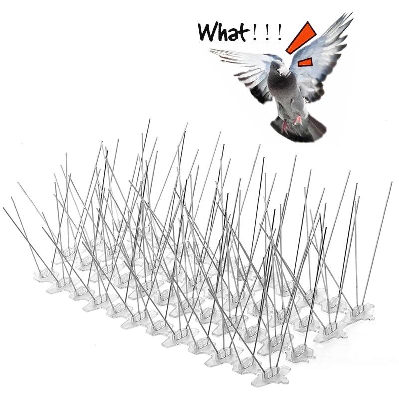 3m 5m 10m Plastic Bird And Pigeon Spikes Anti Bird Anti Pigeon Spike For Get Rid Of Pigeons And Scare Birds Pest Control Repellents Aliexpress