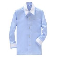 Стиль мальчиков хлопковые рубашки индивидуальный заказ Детские Свадебные/вечерние/вечер с длинным рукавом Детская футболка CS27