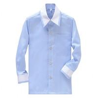 New Style Boy Cotton Shirts Custom Made  Children Wedding/Dinner/Evening Long Sleeve Kid Shirt CS27