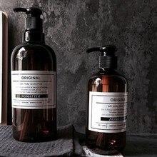 Новейший жидкий гель для душа шампунь Пресс бутылка мыло многоразового использования Бутылка простой скандинавский стиль